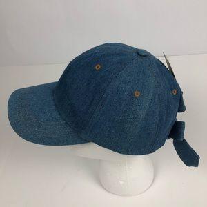 MUDD Women's Baseball Cap One Size Bow on Back